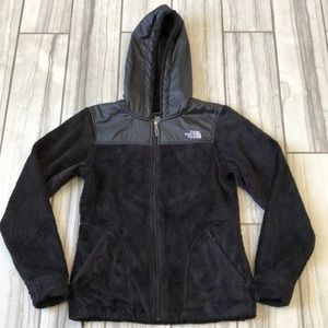 The North Face hooded jacket. GUC